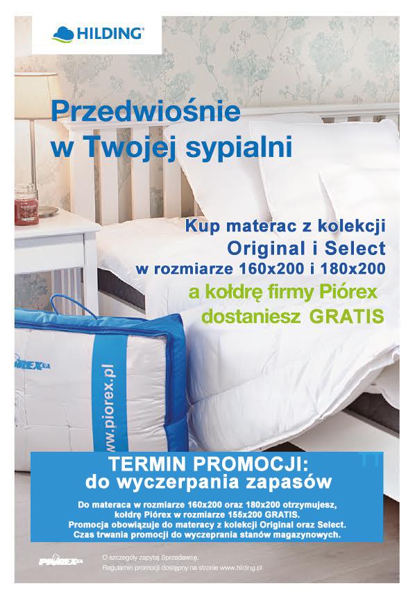 Promocja HILDING - Kołdra GRATIS do materaca